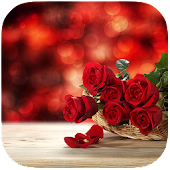 Red Rose and Heart Best Theme