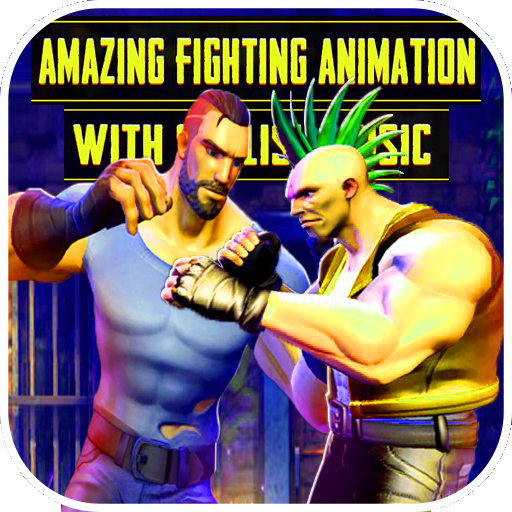 street fight gangster Battleground kung Simulator
