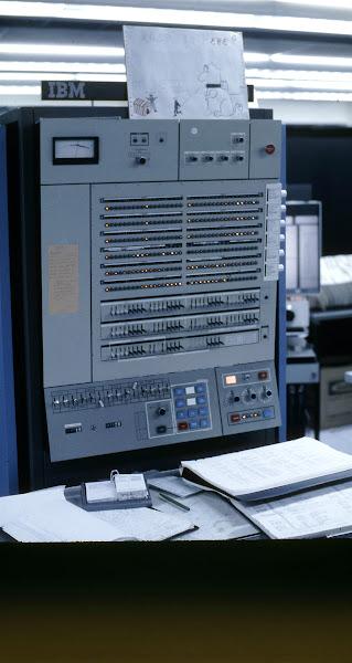Photo: IBM S/360-67 computer at the Computing Center, North University Building, University of Michigan, Ann Arbor, Michigan, USA, c. 1968