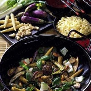 Chinesischer Gemüse-Wok