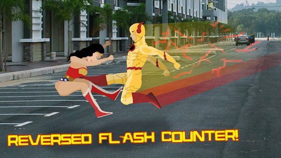 Amazon Wonder Warrior vs Flash Speed Hero