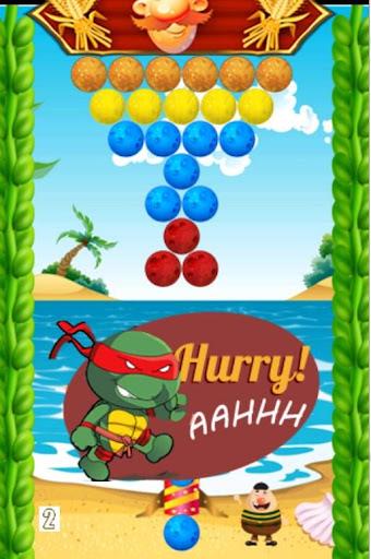 Turtle Bubble Shooter