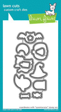 Lawn Fawn Custom Craft Die - Spooktacular
