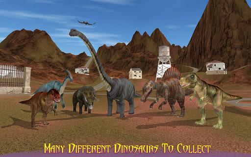 怒っている恐竜動物園トランスポート2