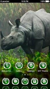 Nature Animal Theme C Launcher - náhled