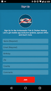 Ambassador Fish & Chicken- screenshot thumbnail