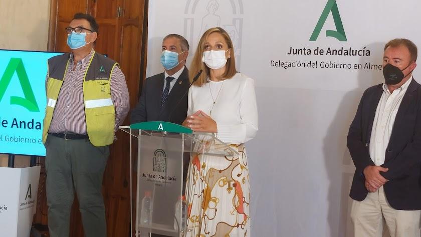 La delegada del Gobierno de la Junta, Marible Sánchez