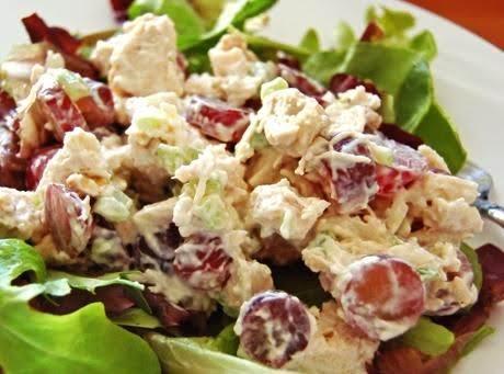 My Go-to Grape Chicken Salad Recipe