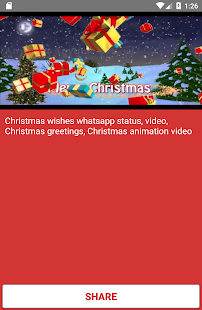 screenshot image - Christmas Wishes Video