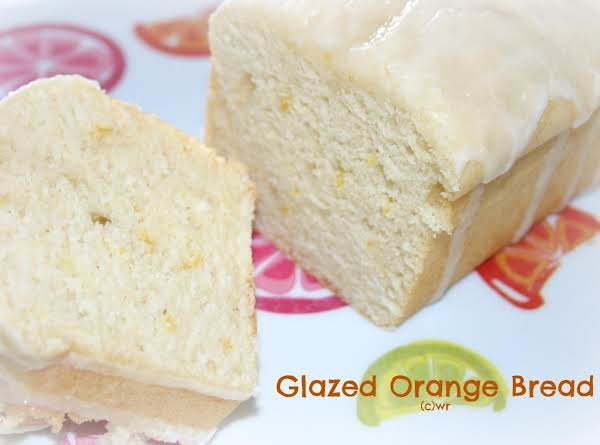 The Ultimate Glazed Orange Bread