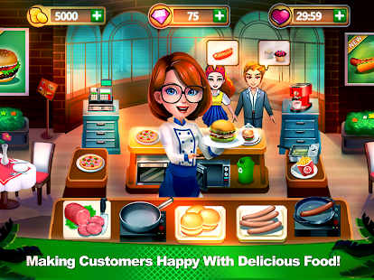 Chef Dash: Cooking Adventure & New Restaurant Game- screenshot thumbnail