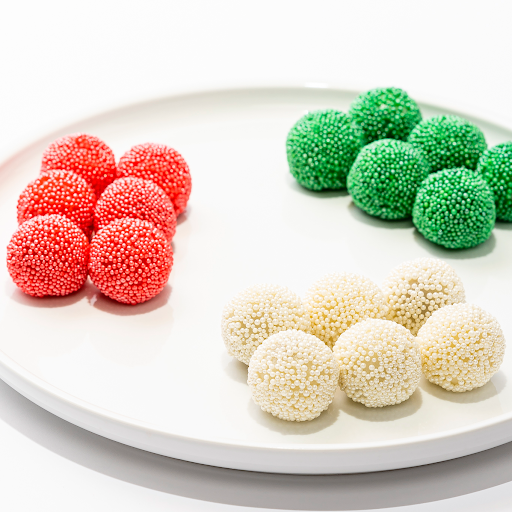 Mini Rainbow Chocolate Sprinkle Mochi (18 pcs)