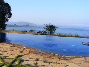 Photo: A beautiful lakeside resort close to nature