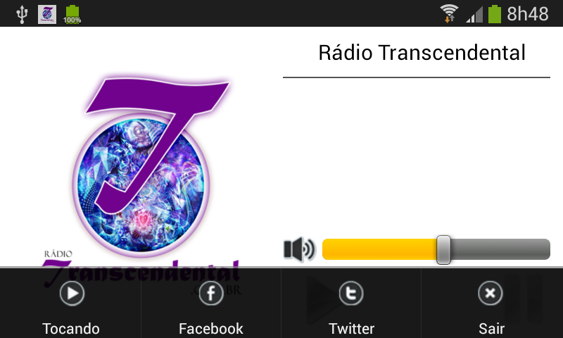 Rádio Transcendental- screenshot