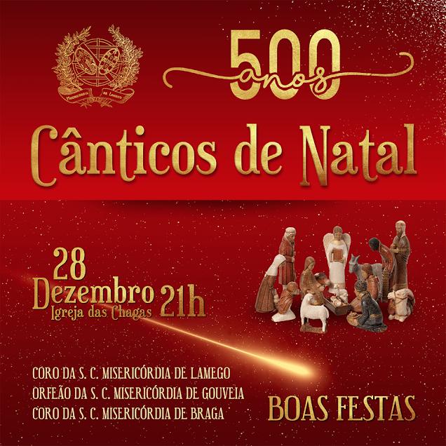"""Misericórdia de Lamego oferece """"Cânticos de Natal"""" com a atuação de três coros"""