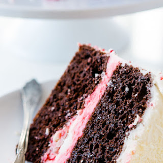 Simple Chocolate Peppermint Cake