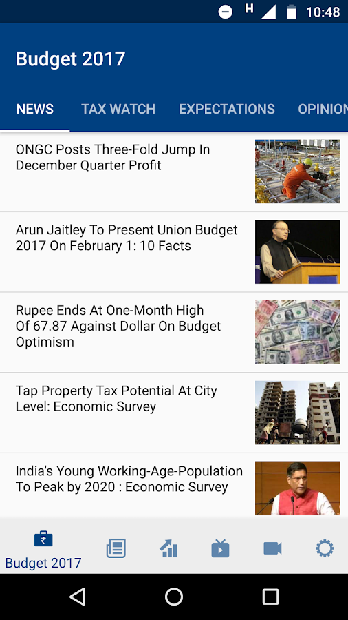 NDTV Profit- screenshot