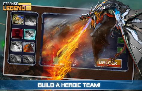 Defense Legend 3 MOD: Future War (Unlimited Money) 2