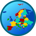 Europe map free icon