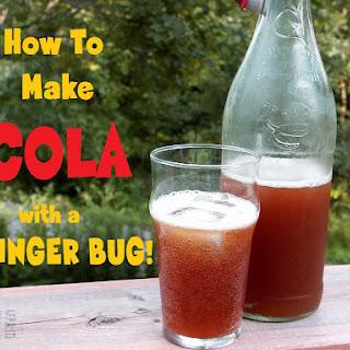 Homemade Cola – Using Ginger Bug!.