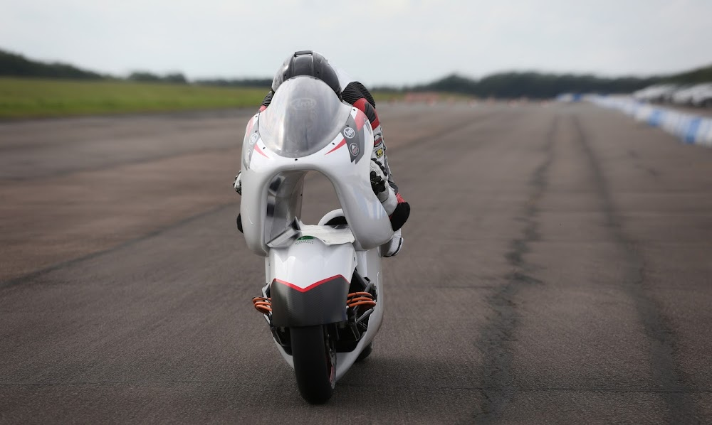 WATCH | Radical 'tunnel' bike tested before speed record attempt