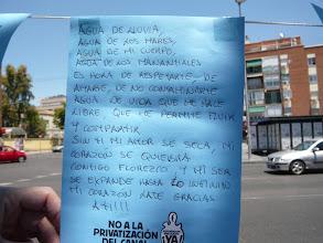 Photo: Mensaje del Mural de la Asamblea de Carabanchel
