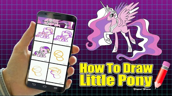 How To Draw Little Pony - náhled