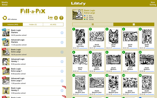 Conceptis Fill-a-Pix filehippodl screenshot 9