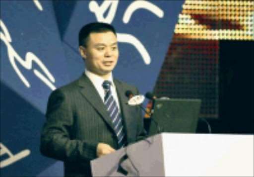 SCREEN RETURN: Jiang Heping, head of sports for CCTV, says at the time some players in the Super League lacked 'professional ethics'. © Unknown.