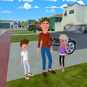 Super Dad : Virtual Happy Family Game icon