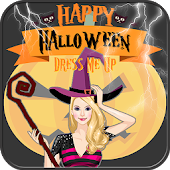 Halloween dress up girl free
