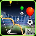Balloon Bow Arrow Football Cup icon