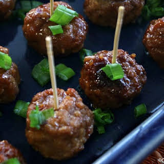 Crock-Pot Kung Pao Meatballs.