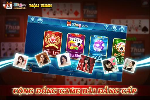Poker VN - Mu1eadu Binh u2013 Binh Xu1eadp Xu00e1m - ZingPlay apkpoly screenshots 2
