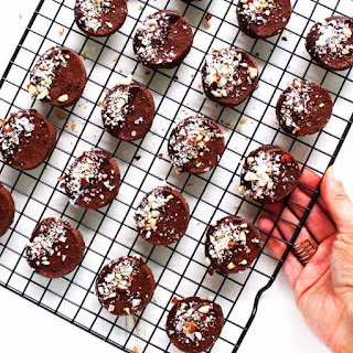 Chocolate Shortbread Cookies with Hazelnuts & Sea Salt Recipe