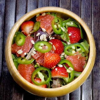 Strawberry Grapefruit Salad