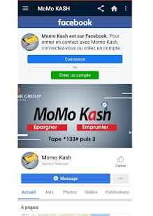 Download MoMo KASH : Epargner et Emprunter For PC Windows and Mac apk screenshot 4