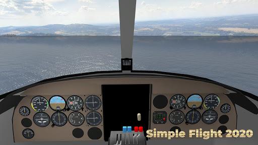 Flight Simulator Simple Flight 2020 Airplane android2mod screenshots 4