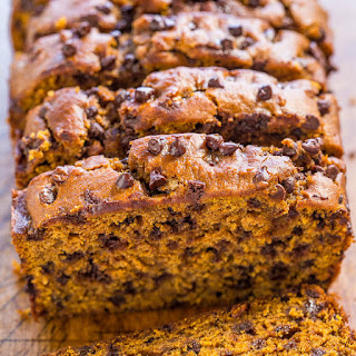 The Best Pumpkin Chocolate Chip Bread.