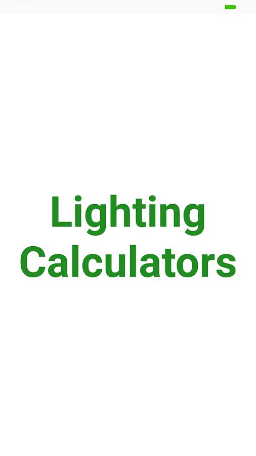 Lighting calculator android apps on google play lighting calculator screenshot aloadofball Gallery
