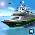 US Army Cruise Ship Driving - Army Transport Game apk
