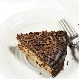Vegan Gluten-Free Vanilla Chocolate Chip Cake.