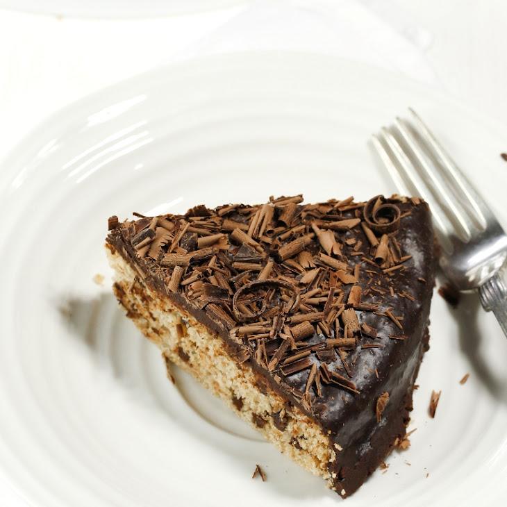 Vegan Gluten-Free Vanilla Chocolate Chip Cake Recipe