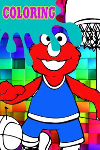 Best Elmo Coloring Games Pictures - Triamterene.us - triamterene.us