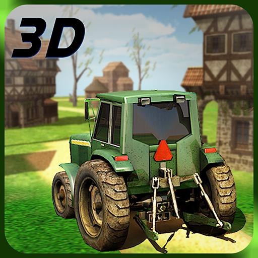Hay Farm Plow Truck Driver