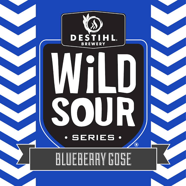 Logo of DESTIHL Wild Sour Series: Blueberry Gose
