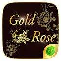 Gold Rose GO Keyboard Theme icon