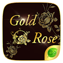 Gold Rose GO Keyboard Theme v 4