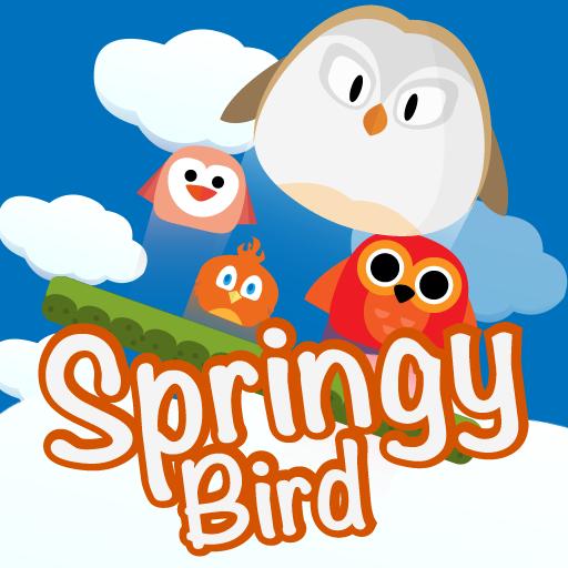 街机のSpringy Bird LOGO-記事Game
