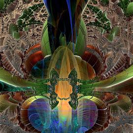 Place Of Interest by Rick Eskridge - Illustration Places ( jwildfire, places, mb3d, fractal, twisted brush )